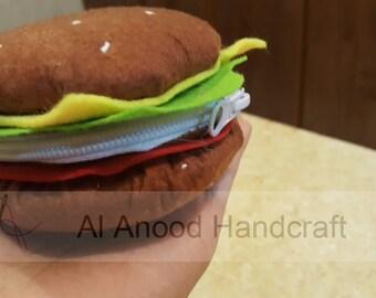 Burger money pouch