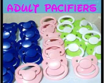 Adult Size Pacifier Preorder (Ddlg, Abdl, Mdlb, Cglo, Ageplay, Rave)