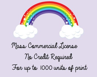 Mass Commercial License for up to 1000 Units, No Credit Required