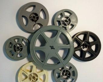 Plastic 16mm Film Reel Lot