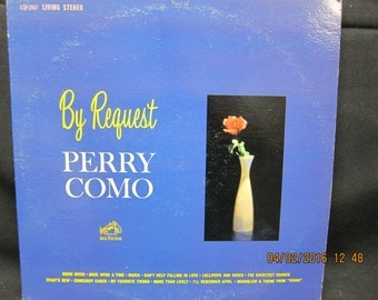 Perry Como By Request - RCA Victor Records