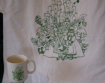 Wizard of Oz Mug and Shirt
