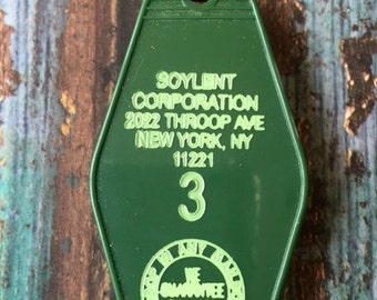 The No-Tel Motel Key Fob - SOYLENT CORPORATION