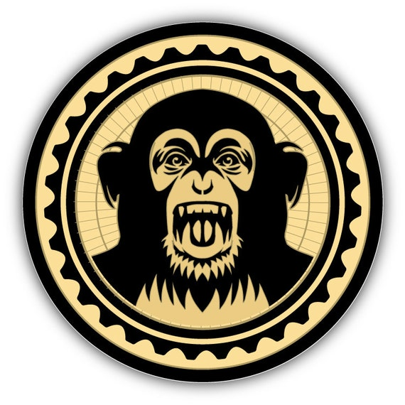 Black Eyed Peas Monkey Business Music Car Bumper by slonotop