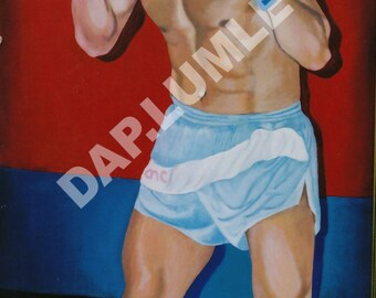 KOSTYA TSZYU original painting -acrylic on board