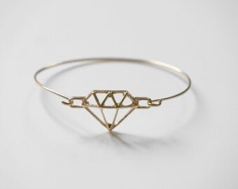 trend Bangle diamond Cuff Bracelet
