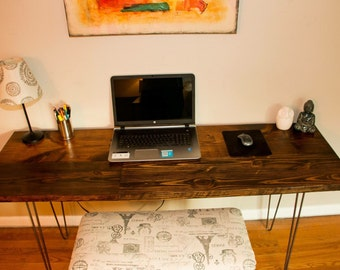 Reclaimed wood desk, industrial wood desk, wood desk, wood long table, reclaiked desk, reclaimed wood table, industrial table