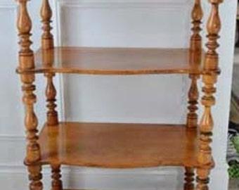 Antique Étagère (Shelves), Birch, Louis Philippe (Circa 1860), German