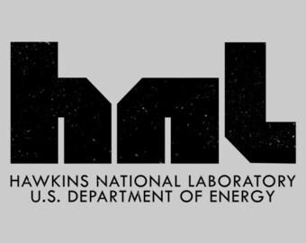 Hawkins National Laboratory -  Stranger Things Men's Unisex T-Shirt - Sci-Fi Geek TV Parody Clothing