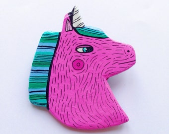 Unicorn Brooch / Pin