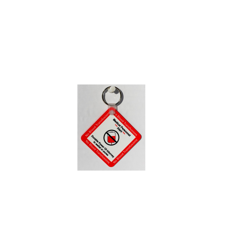 no blood key chain 2 25 shape key chain by
