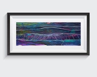 "Purple Waves ""Digital"""
