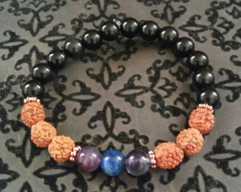 Protection and Intuition-Reiki Infused Bracelet