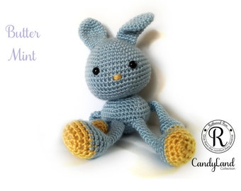 Butter Mint Rachel - Blue Rabbit