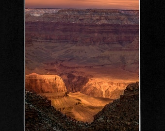 Photography Sunset at the Canyon