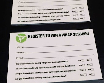 It Works Entry Forms or Custom made for other companies!