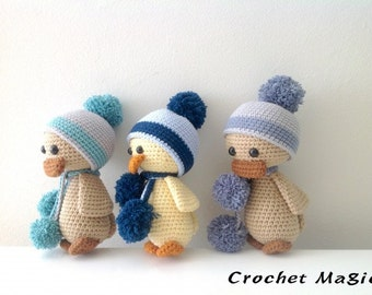 Crochet Three Ugly Ducklings