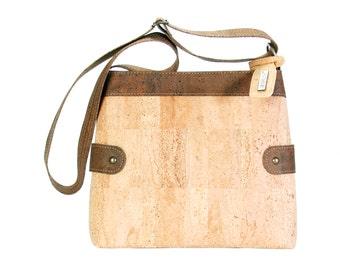 Cork, Cork pocket and shoulder bag handbag