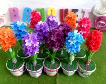 Hyacinth Flower Clay