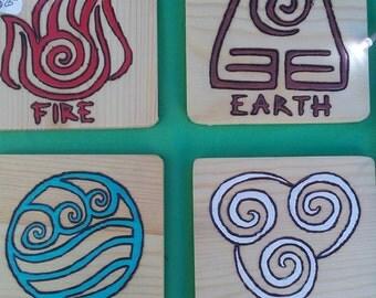 Elements Coaster Set