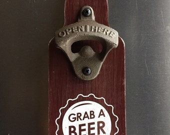 Grab A Beer Bottle Opener