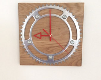 Oak Clock with Williams chainring