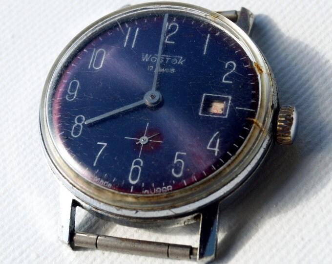 """Men's watches """"Wostok"""" 1969-- '70 - Vintage mechanical soviet watch USSR"""