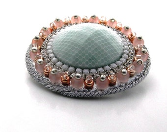 "Brooch ""Candy"", New, Made entirely by hand"