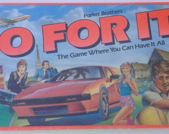 Vintage 1980's Go For It game