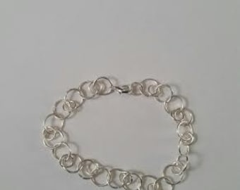 Wire ringed bracelet