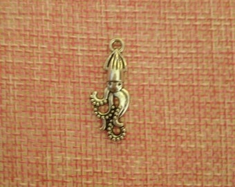 Octopus shaped charm