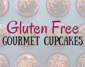 Gluten Free Cupcakes In A Jar, Gourmet Flavors