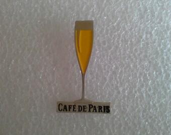 CAFE DE PARIS Pin Badge