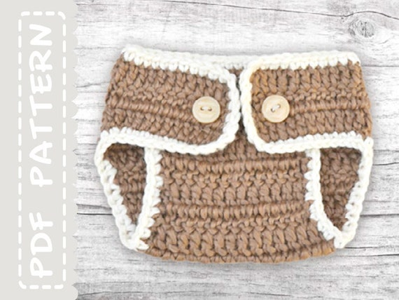 Crochet Baby Diaper Bag Patterns : Diaper Cover Pattern Baby Crochet Pattern Diaper by ...