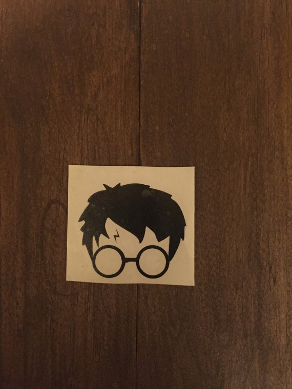 Harry Potter Inspired Glasses Scar Macbook Logo Apple