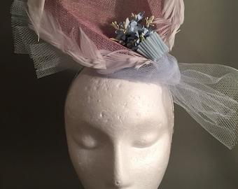 Dreamy Pink Sinamay Hat