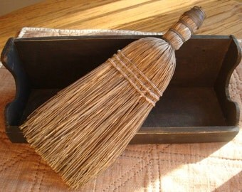 Old Whisk Broom Farmhouse Primitive Early