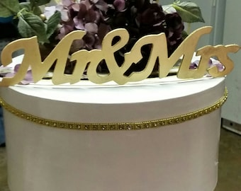 decorative wedding or shower card box