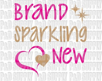Brand Sparkling New SVG, DXF - Digital Cut file for Cricut or Silhouette svg, dxf