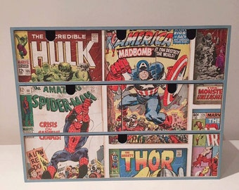 Chest of drawers-SuperHeroes