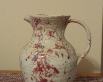 pottery pitcher
