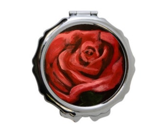 """Compact mirror """"The Rose"""""""