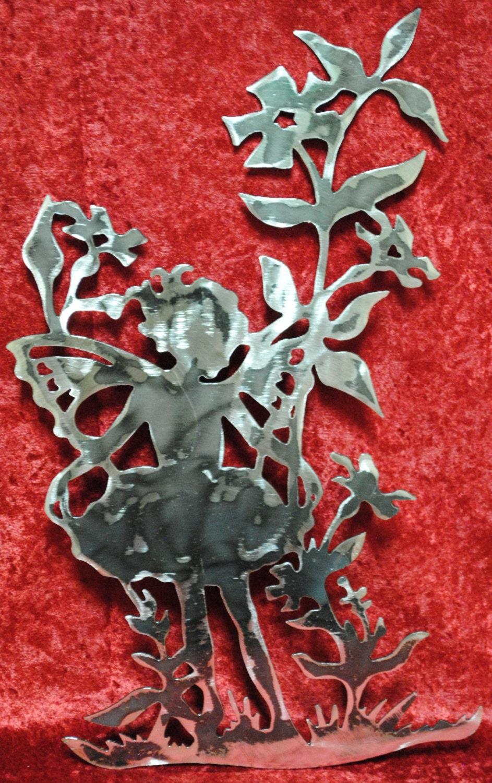 Metal garden wall art -  39 95 Usd