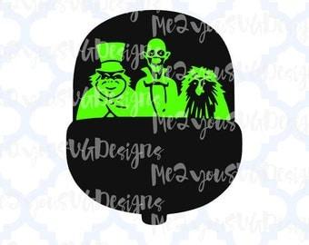 Haunted Mansion Doom Buggy SVG,EPS,PNG,Studio