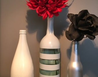 Assorted Painted Bottles