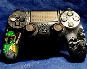 Custom Airbrushed Gaming Controller