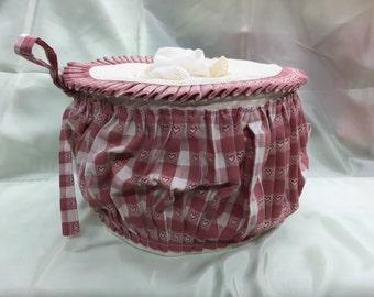 Cotton basket for kitchen