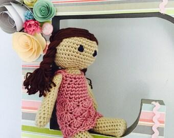 Polly Ann the Customized Vintage Crochet Doll