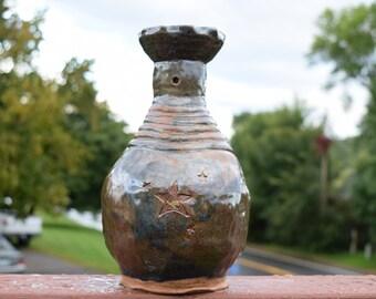 Hand-Made, Vintage Pottery Vase