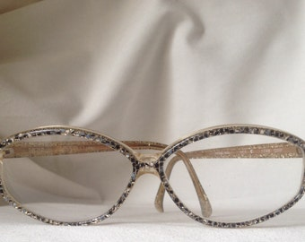 Rare Vintage Nina Ricci jewellery eyewear frame lunettes